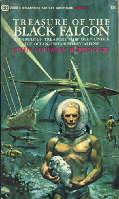 Ballantine Books - Treasure of the Black Falcon - John Coleman Burroughs