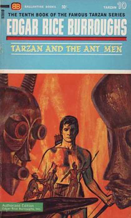 Ballantine Books - Tarzan and the Ant Men (vintage Ballantine, F754)