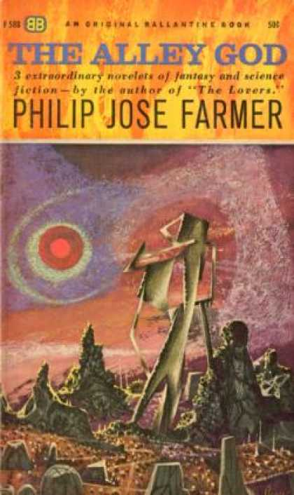 Ballantine Books - The Alley God - Philip Jose Farmer