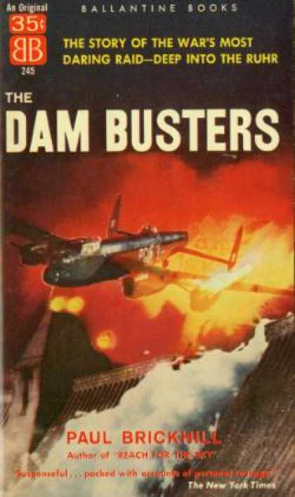 Ballantine Books - The Dam Busters - Paul Brickhill