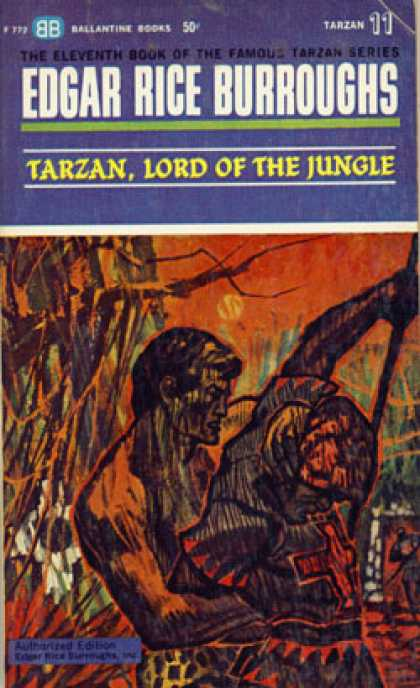 Ballantine Books - Tarzan, Lord of the Jungle - Edgar Rice Burroughs