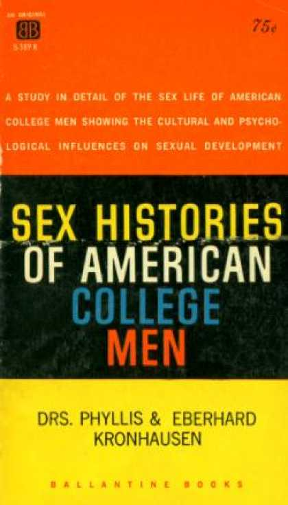 Ballantine Books - Sex Histories of American College Men - Phyllis Kronhausen