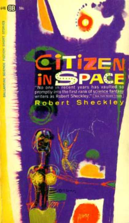 Ballantine Books - Citizen In Space - Robert Sheckley