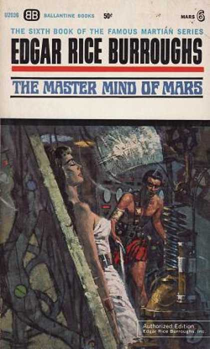 Ballantine Books - The Master Mind of Mars - Edgar Rice Burroughs