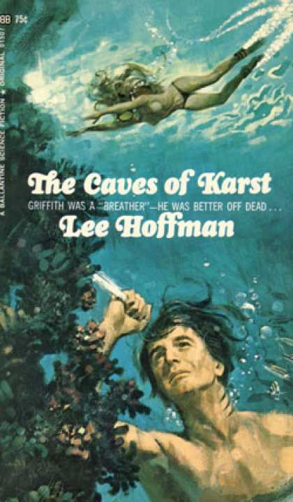 Ballantine Books - Caves of Karst - Lee Hoffman