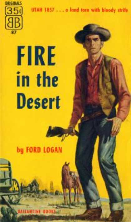 Ballantine Books - Fire In the Desert - Ford Logan
