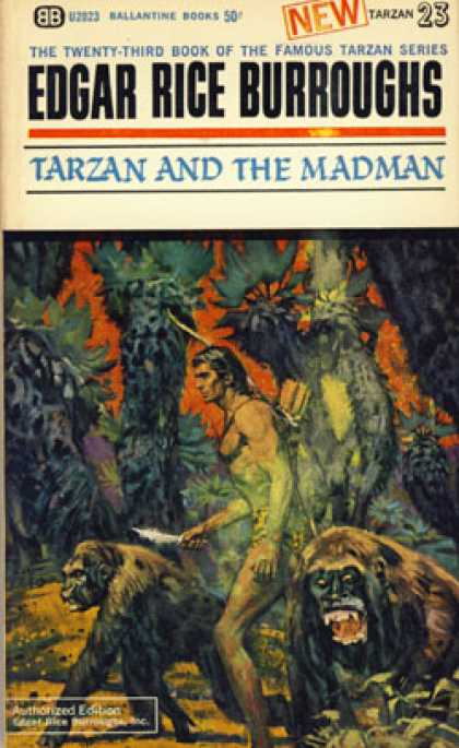 Ballantine Books - Tarzan and the Madman - Edgar Rice Burroughs