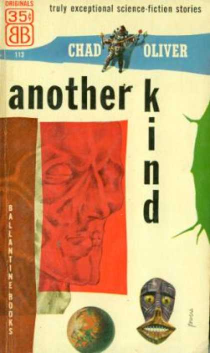 Ballantine Books - Another Kind: Science-fiction Stories - Chad Oliver