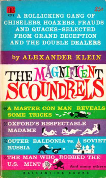 Ballantine Books - The Magnificient Scoundrels - Alexander Klein