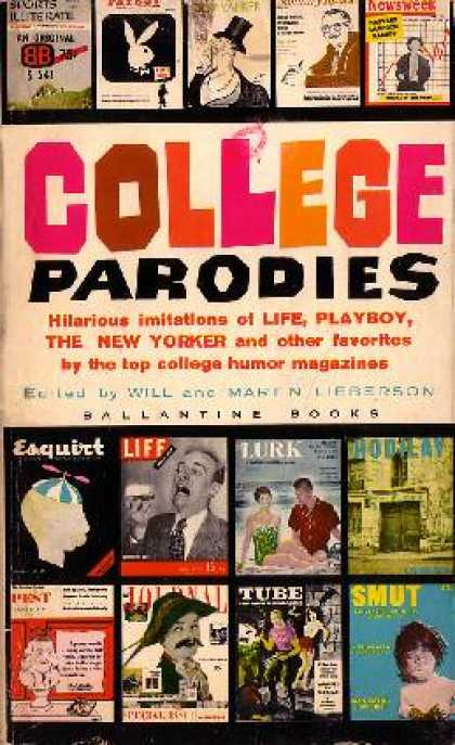 Ballantine Books - College Parodies - Will and Martin Lieberson