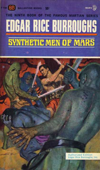 Ballantine Books - Synthetic Men of Mars - Edgar Rice Burroughs