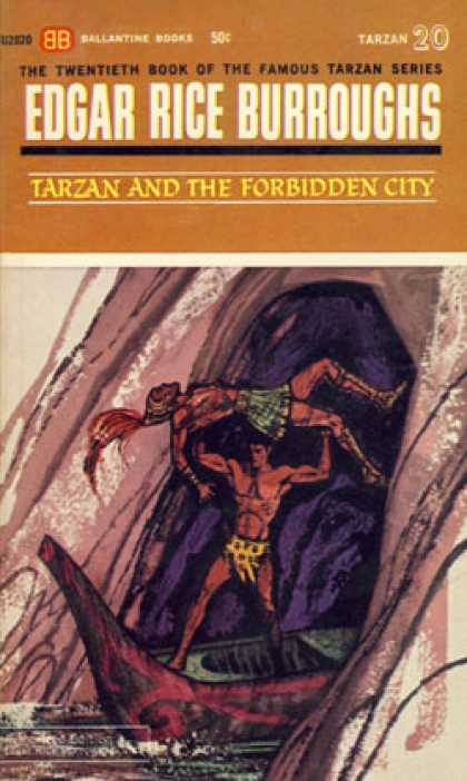 Ballantine Books - Tarzan and the Forbidden City (ballantine U2020) - Edgar Rice Burroughs