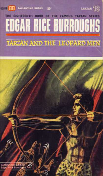 Ballantine Books - Tarzan & the Leopard Men - Edgar Rice Burroughs