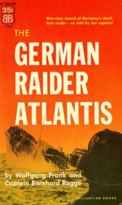 Ballantine Books - German Raider Atlantis - Wolfgang Frank