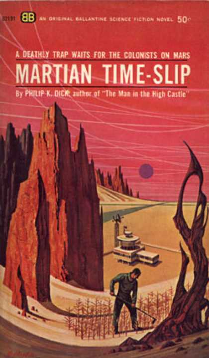 Ballantine Books - Martian Time-slip