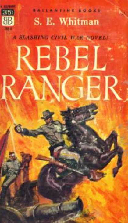Ballantine Books - Rebel Ranger - S. E Whitman