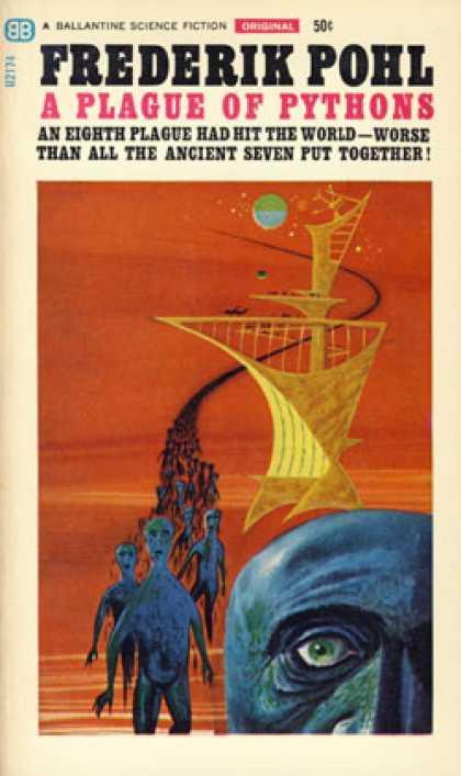 Ballantine Books - A Plague of Pythons - Frederik Pohl