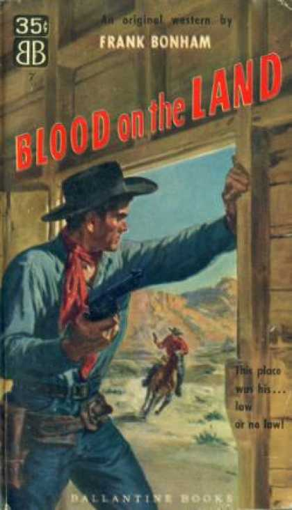 Ballantine Books - Blood on the Land - Frank Bonham