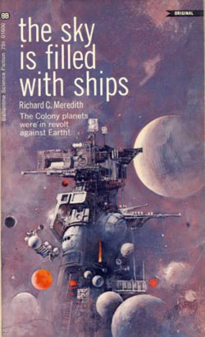 Ballantine Books - The Sky Is Filled With Ships - Richard C. Meredith