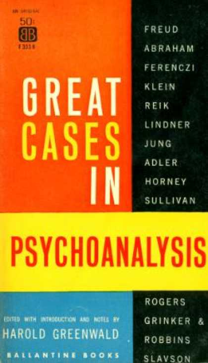 Ballantine Books - Great Cases In Psychoanalysis