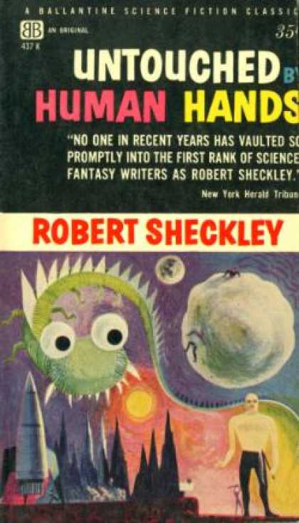 Ballantine Books - Untouched By Human Hands - Robert Sheckley