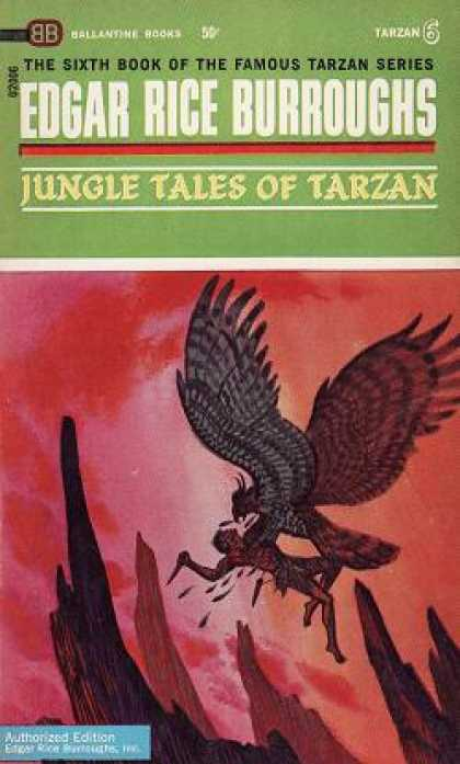Ballantine Books - Jungle Tales of Tarzan - Edgar Rice Burroughs