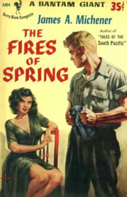 Bantam - The fires of spring - James A. Michener