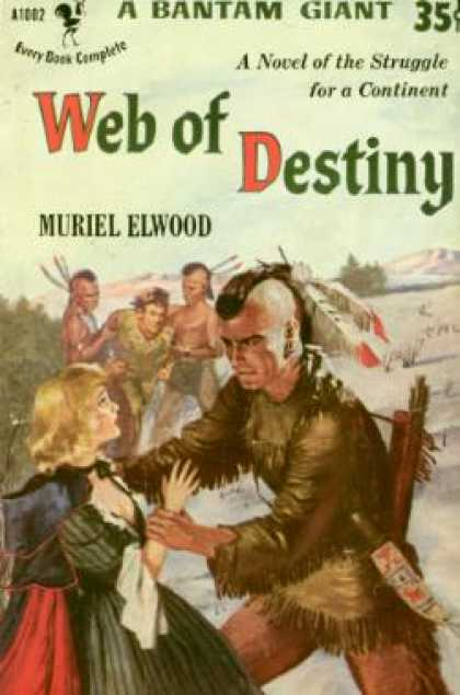 Bantam - Web of Destiny - Muriel Elwood