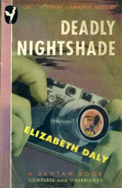 Bantam - Deadly Nightshade - Elizabeth Daly