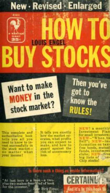 Bantam - How To Buy Stocks: A Guide To Making Money In the Maket