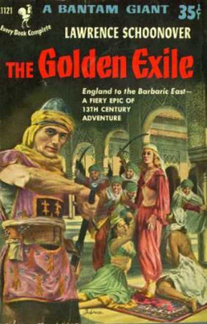 Bantam - The Golden Exile: - Lawrence L Schoonover