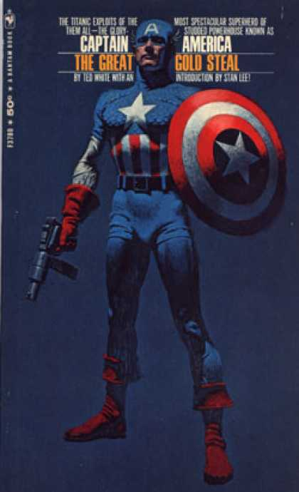 Bantam - Captain America: The Great Gold Steal