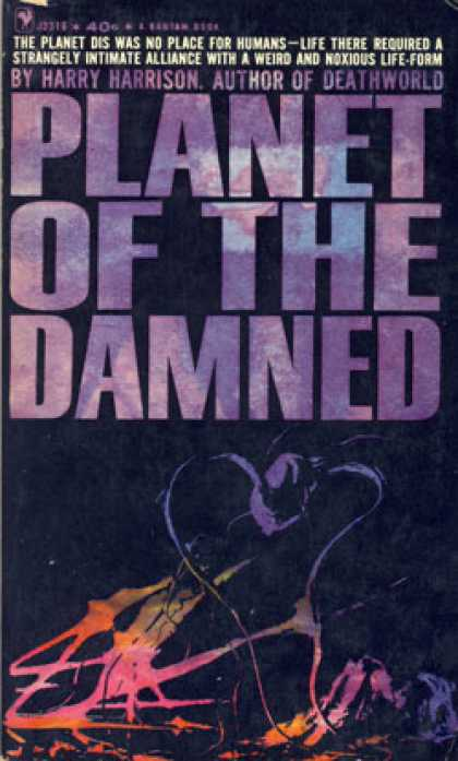 Bantam - Planet of the Damned - Harry Harrison