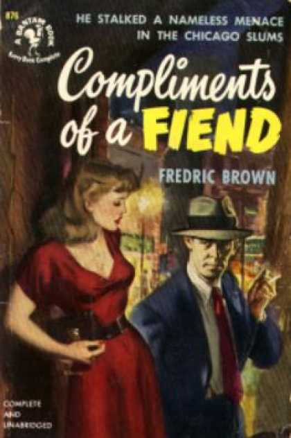 Bantam - Compliments of a Fiend - Fredric Brown