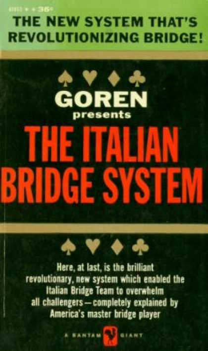 Bantam - Goren Presents the Italian Bridge System - Charles H. Goren