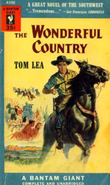 Bantam - The Wonderful Country - Tom Lea