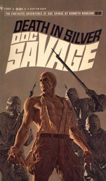 Bantam - Doc Savage Death In Silver - Kenneth Robeson