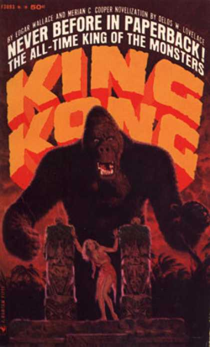 Bantam - King Kong - Edgar Wallace and Merian C. Cooper