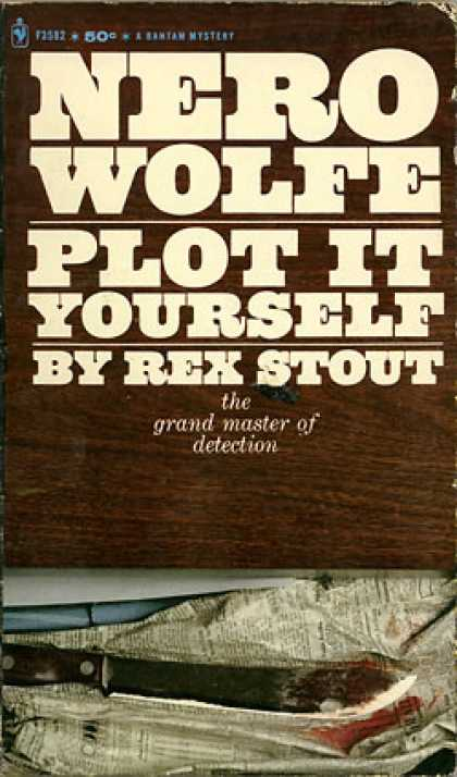 Bantam - Nero Wolfe, Plot It Yourself - Rex Stout