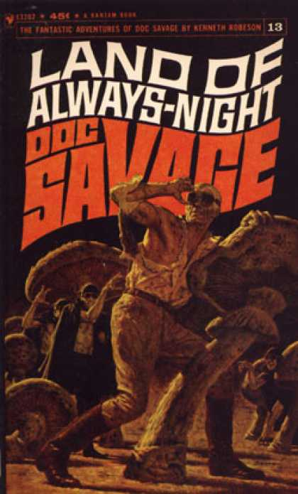 Bantam - Land of Always-night: A Doc Savage Adventure - Kenneth Robeson