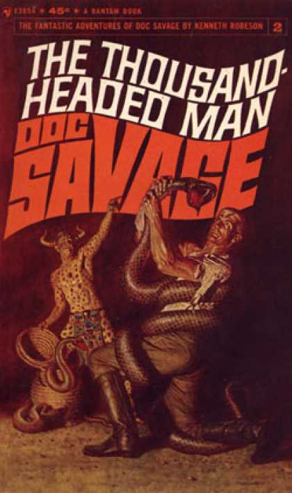 Bantam - Doc Savage #2: The Thousand Headed Man