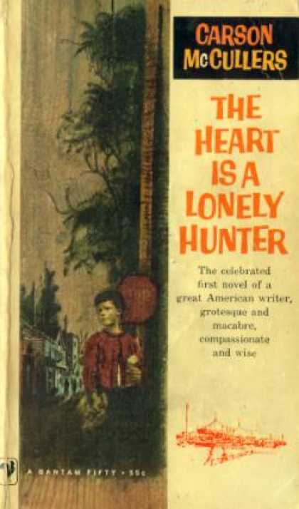 an overview of the novel the heart is a lonely hunter by carson mccullers Carson mccullers was an american who wrote fiction north carolina, she wrote her first novel, the heart is a lonely hunter, in the southern gothic tradition.
