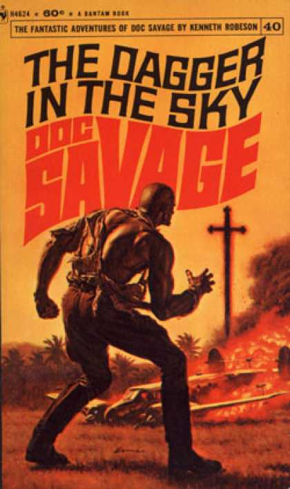 Bantam - The Dagger In the Sky a Doc Savage Adventure