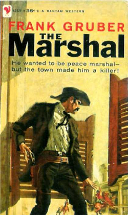 Bantam - The Marshal - Frank Gruber