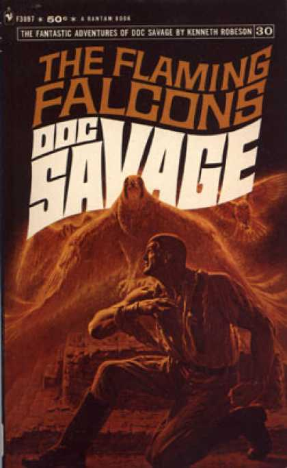 Bantam - The Flaming Falcons: Doc Savage 30