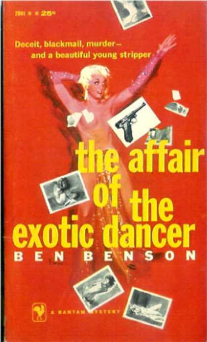 Bantam - The Affair of the Exotic Dancer - Ben Benson