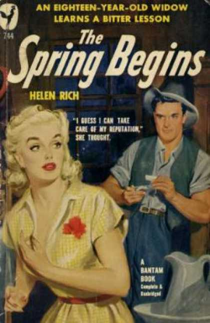 Bantam - The Spring Begins - Helen Rich