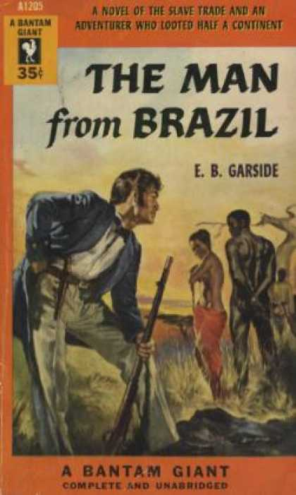 Bantam - The Man From Brazil - E. B. Garside