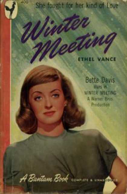 Bantam - Winter Meeting: Movie Tie In: Bette Davis - Ethel Vance