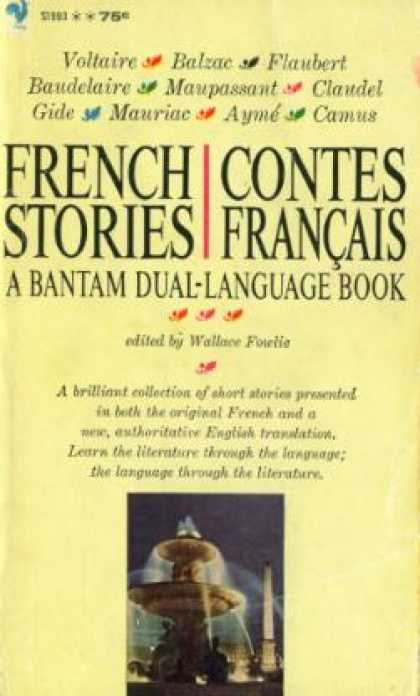 Bantam - French Stories: Contes Francais: A Bantam Dual Language Book - Wallace (editor)